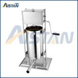 Llenador manual de la salchicha de TV3l para el jamón que hace la máquina