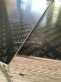 a película marinha Shuttering do núcleo da junção do dedo da madeira compensada da madeira compensada de 18mm enfrentou a madeira compensada