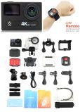 Mini DV schermo doppio di telecomando di azione 4k della macchina fotografica 30fps WiFi di sport della macchina fotografica reale un obiettivo da 170 gradi