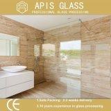 Painel de vidro do banheiro do chuveiro/vidro segurança Tempered da tela com Ce SGCC