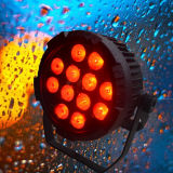 Indicatore luminoso della lavata di PARITÀ di IP65 Powercon DMX LED con RGBWA UV