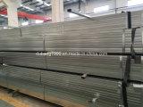 Quadratisches Stahlrohr/Gefäße/hohles Kapitel-galvanisiertes/schwarzes Ausglühen-Stahlquadrat Tube-10