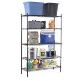 5 ярусов самонаводят шкаф хранения Shelving провода офиса гаража кухни