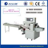 Machine de conditionnement horizontale automatique de film de PE de Mophead de lavette d'approvisionnements des produits de flux
