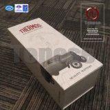 Alta calidad del vino plegable caja de embalaje con Magnética