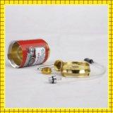 Vente en gros de tubes multi-couleurs Mini Metal Water Smoking Pipe