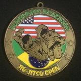 Kundenspezifische antike Messingende-Medaillen für Andenken
