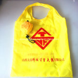 ロゴのポリエステルFoldable袋の新しいデザインを広告する経済