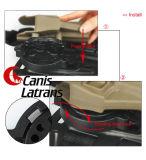 Pistolenhalfter-Plattformen Serpa vom Schnelltrenninstallationssatz Bekleiden-Hängen Plattform ein