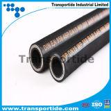 Tubi flessibili idraulici di gomma dell'olio del fornitore fatti in Cina