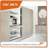 Armadio da cucina moderno della lacca di disegno della cucina L stile