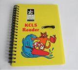 Cahier d'agenda de la vente directe A5 d'usine avec le crayon lecteur au prix bon marché