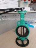 Hebel gebetriebenes elastisches Oblate-Drosselventil des SitzPn16