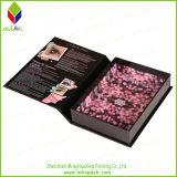 Produit de beauté de empaquetage de beau cadeau de papier pliant le cadre magnétique