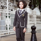 Blazer fait sur commande d'uniforme scolaire de type chinois