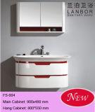 Gabinete de banheiro de madeira Fs004 da forma moderna