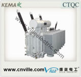 transformateur d'alimentation 180mva avec sur le commutateur de taraud de chargement