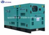 Leises Dieselgenerator-Set der Kinetik-Ausgabe-180kVA angeschalten von Perkins