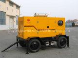 Type Genset diesel (pf) de bas de page de Puyang 4-Wheels