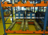 Racking d'acciaio resistente di gravità di flusso del rullo di memoria del magazzino approvato Ce