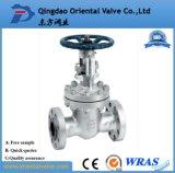 Valvola a saracinesca flangiata dell'acciaio inossidabile per il gas di olio e l'acqua Pn16 Dn150