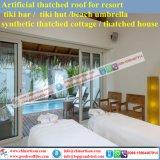 La capanna artificiale Thatched sintetica della barra di Tiki del Thatch del Bali Hawai del ricorso del tetto Thatched il cottage Maldives