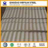 Il tetto ondulato grigio e bianco riveste il prezzo per strato