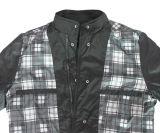 Rivestimento impermeabile del cappotto del pattino del Windbreaker di modo del poliestere degli uomini all'ingrosso per esterno
