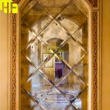 Византийское античное зеркало A014 зеркала стены золота отраженного сбор винограда сделанного по образцу стеклянного в зеркале Китая