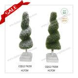 Mini plantas ornamentales artificiales del Topiary de la mejor venta