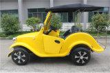 Automobile elettrica alla moda dell'annata delle quattro sedi per zona turistica