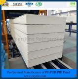 ISO, SGS는 서늘한 방 찬 룸 냉장고를 위한 100mm 돋을새김한 알루미늄 PIR 샌드위치 (빠르 적합하십시오) 위원회를 승인했다