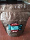 Ziplock мешок пластичный упаковывать кофеего Gusset дна вставки
