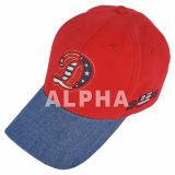 Qualitäts-Baumwolle gepaßtes Demin bedeckt Baseballmützen mit einer Kappe