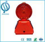 Vehículo impermeable solar solar de la luz de faro del LED que gira/piloto rotatorio
