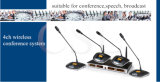 Professionista senza fili del microfono di frequenza ultraelevata del sistema acustico della sala per conferenze
