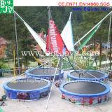Goedkope Ronde het Springen Bungee Trampoline