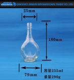O OEM presta serviços de manutenção ao frasco de vinho de vidro transparente para o armazenamento do álcôol