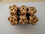 dente 7 7, 11, bit de 32mm de tecla da liga do carbono do atarraxamento de 12 graus para a perfuração