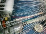 Sacchetto tessuto plastica che fa macchina (un telaio circolare delle sei spole)