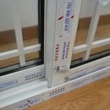 Двойное стекло с профиля цвета UPVC решетки окном Kz169 белого сползая