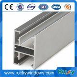 El perfil de aluminio de 6063 series T5 para hace puertas y Windows