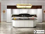 Armadio da cucina di legno della Francia dell'hotel dell'isola domestica moderna della mobilia