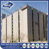 Gruppo di lavoro chiaro Pre-Costruito moderno della costruzione dell'acciaio per costruzioni edili