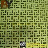 PVC Coated Perforated Wire Mesh für Decoration