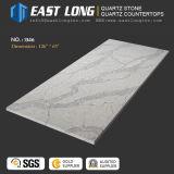 Искусственний Polished камень кварца для Countertop/проектированный/строительный материал с твердым Surface/SGS/Ce (Calacatta/белым камнем)