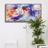 نوع خيش يطبع صور جدار فنية زخرفة يشكّل نوع خيش صورة زيتيّة صور لأنّ بيضيّة, مكتب, فندق, مطعم