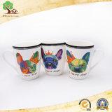 tazze di ceramica del timpano 11oz per il cane bello della tazza di Cooffe in fabbrica