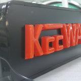 Logotipo de carro de iluminação publicitária de vácuo retroiluminado retroiluminado