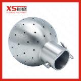"""esfera da limpeza do aço 1.5 """" 304 inoxidável com braçadeiras dobro"""